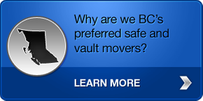 Why are we BC's preferred safe and vault movers? - Learn more