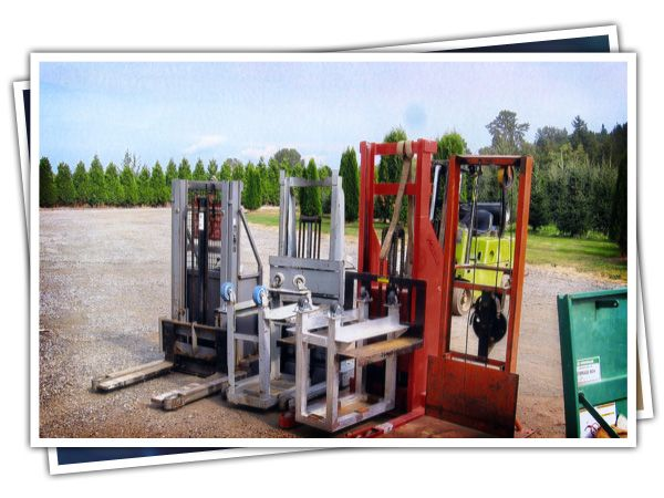 Stackers - small forklifts